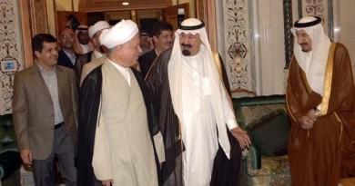 هاشمی و ملک عبدالله