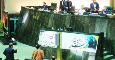 درگیری احمدی نژاد و لاریجانی
