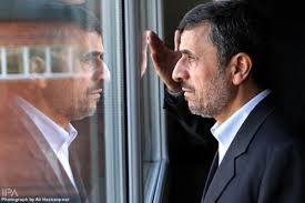 خانه نشینی احمدی نژاد