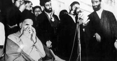 گریه امام برای شهید مطهری