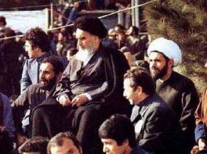 امام خمینی در بهشت زهرا