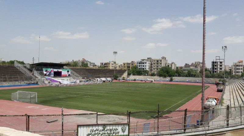 Image result for استادیوم سعدآباد مشهد