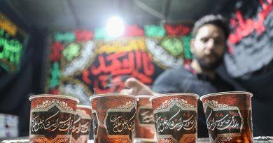 نذرِ آب و چایِ شمس الله در پایتخت ترکمنستان