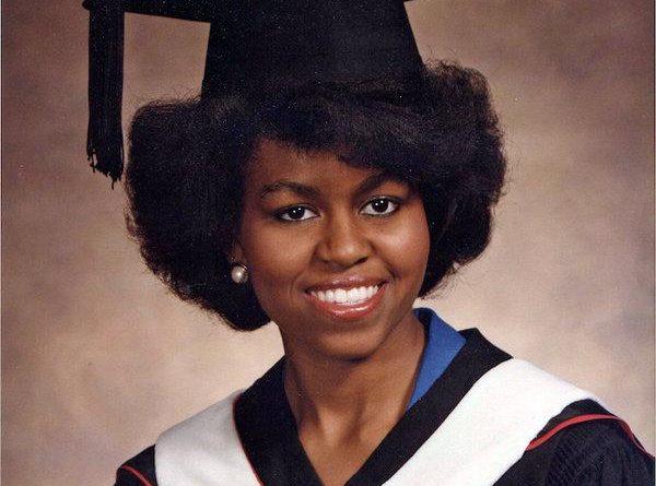 میشل اوباما-دوران دانشگاه