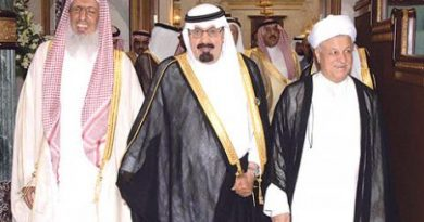 دیدار خصوصی هاشمی رفسنجانی با امیرعبدالله