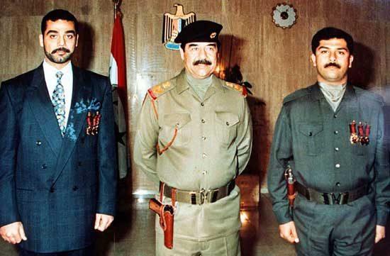 عدی فرزند صدام حسین